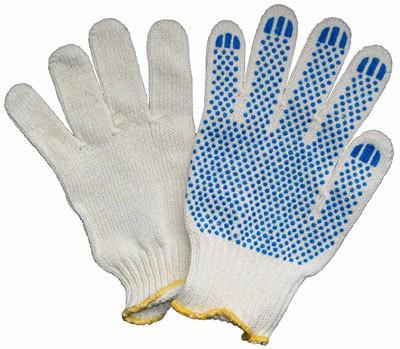 Перчатки ХБ с ПВХ 10 класс 50-52гр