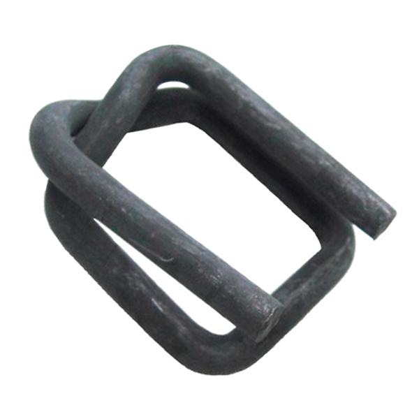 Пряжка проволочная для стреппинг ленты (черная)