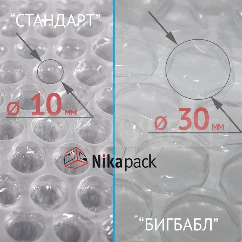 Воздушно-пузырьковая пленка с пузырьками 30мм (БигБабл)